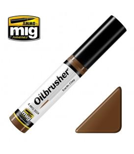 Oilbrusher Oleo Ammo Mig Earth Clay