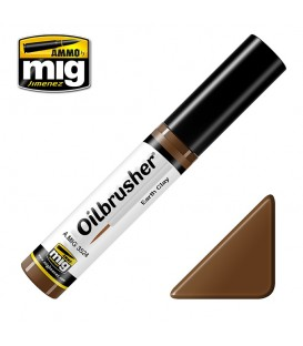 Oilbrusher Olio Ammo Mig Earth Clay