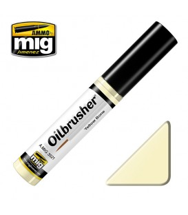 Oilbrusher Oil Ammo Mig Yellow Bone