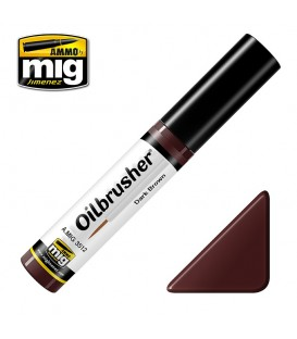 Oilbrusher Oil Ammo Mig Dark Brow