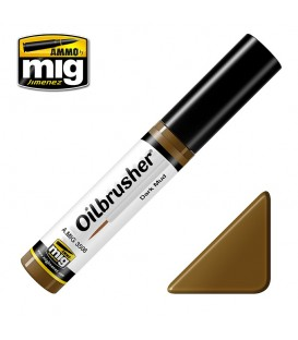Oilbrusher Oil Ammo Mig Dark Mud