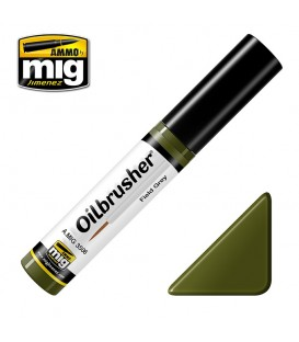 Oilbrusher Oil Ammo Mig Field Green