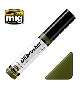Oilbrusher Oleo Ammo Mig Field Green