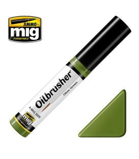 Oilbrusher Oleo Ammo Mig Olive Green