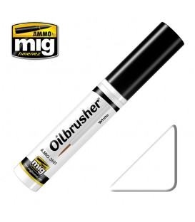 Oilbrusher Oleo Ammo Mig White