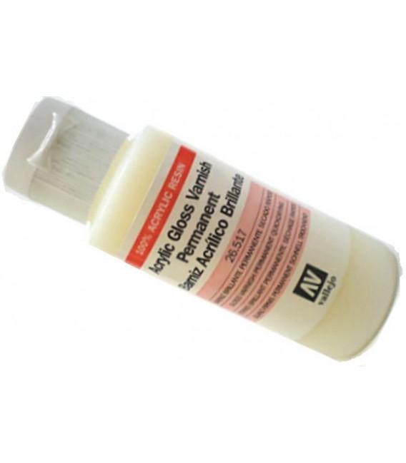26.517 Vernis acrylique brillant Vallejo 60 ml.