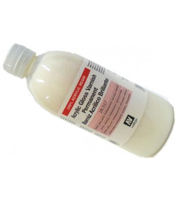 28.517 Acrilic glossy varnish Vallejo 500 ml.