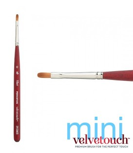 0 FILBERT Synthetic brush 3950 MINI short handle.