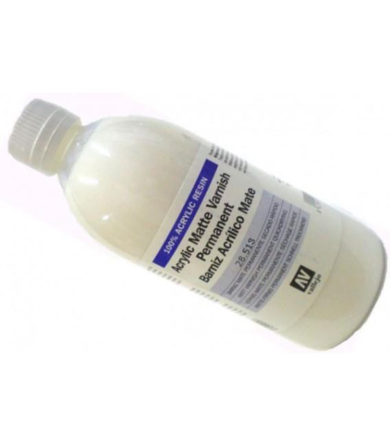 28.518 Verniz mate acrilica Vallejo 500 ml.