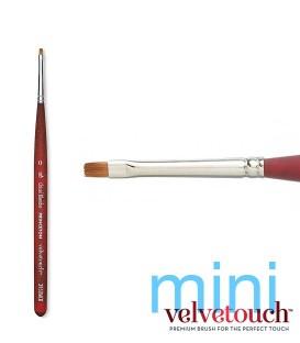 0 CHISEL BLENDER Synthetic brush 3950 MINI short handle.