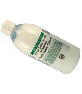 28.519 Barniz acrilico satinado Vallejo 500 ml.