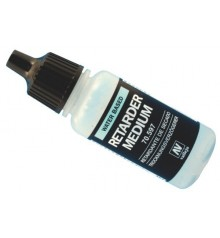 70.597 Medium acrílico retardante Vallejo 17 ml.