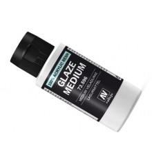 73.596 Medium acrilico para veladuras Vallejo 60 ml.