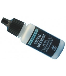 Medium acrilic metàllic Vallejo 17 ml.