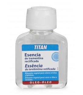 Rectified Turpentine Essence Titan 100 ml.