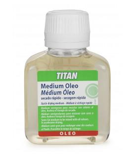 Medium Oleo Secagem Rapida Titan 100 ml.