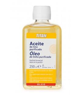 Purified Linseed Oil Titan 250 ml.