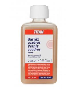 Vernis Quadres Mat Titan 250 ml.