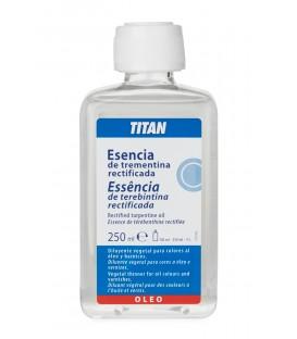 Rectified Turpentine Essence Titan 250 ml.