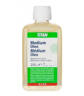 Oil Colours Medium Titan 250 ml.