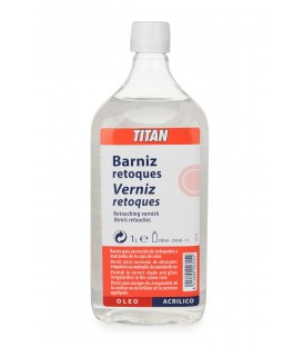 Retouching Varnish Titan 1000 ml.