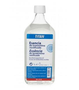 Essencia de Trementina Rectificada Titan 1000 ml.