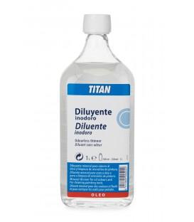 Odorless Diluent for Oil Paint Titan 1000 ml.