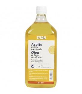 Purified Linseed Oil Titan 1000 ml.
