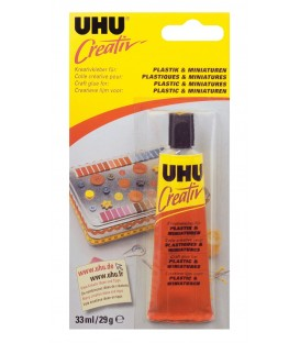 UHU Creativ Colle Plastique et Miniatures 29 gr.