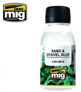 A.MIG-2012 Adhesif pour gravier et sable
