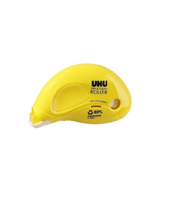 UHU Dry and Clean Pegamento no Permanente en Roller 8,5 m x 6,5 mm