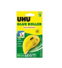 UHU Glue Roller Cola No-Permanent en Roller 8,5 m x 6,5 mm