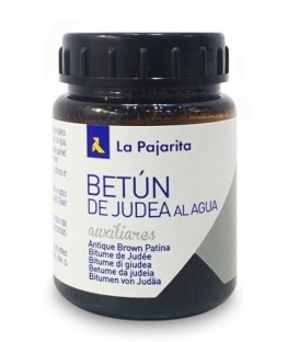 Water-based Asphaltum Antique Brown patina La Pajarita 75 ml.