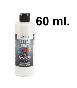 5622 Verniz Createx Matte Clear Coat 60 ml.