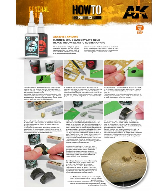 Model building adhesive ULTRA-GLUE AMMO MIG-2031 40 ml.