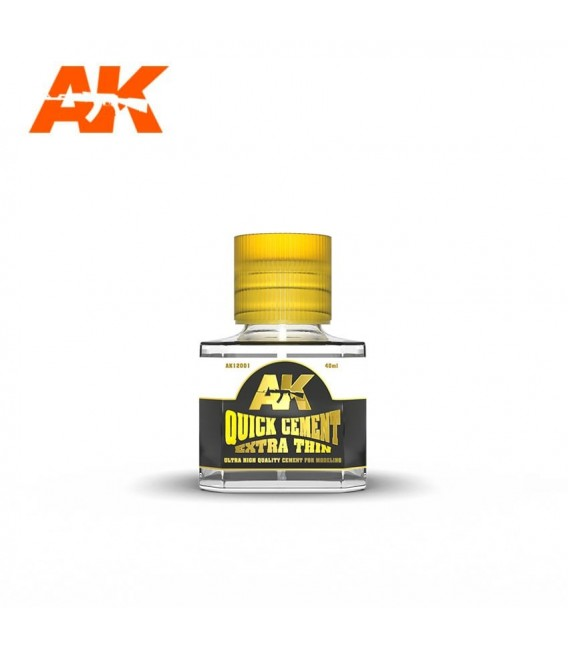 Adhesive Quick Cement Extra Thin AK12001 40 ml.