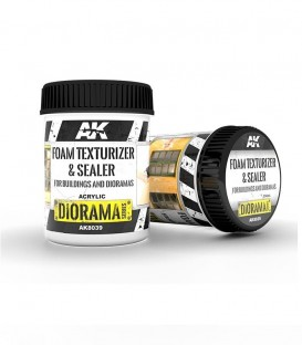 AK8039 Foam Texturizer and Sealer Paste 250 ml.