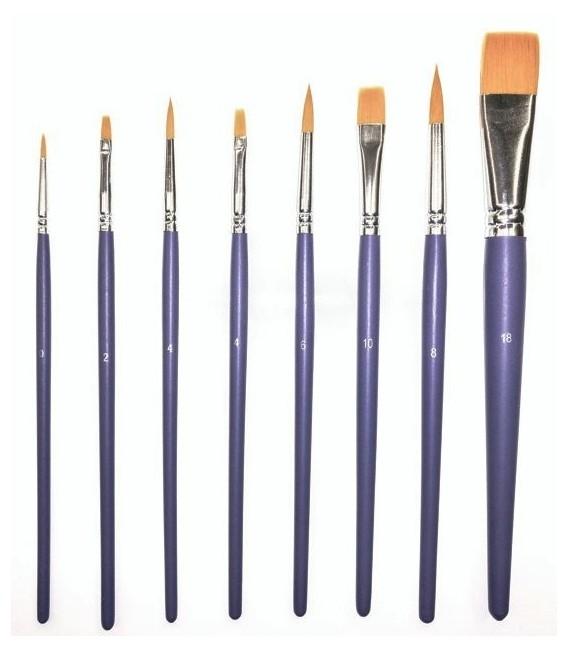 Set 10 pennelli sintetici Art Creation