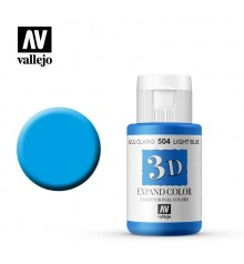 504 Light Blue Vallejo Expand 3D 35 ml.