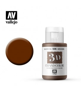 506 Brown Vallejo Expand 3D 35 ml.