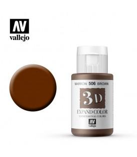 506 Marró Vallejo Expand 3D 35 ml.