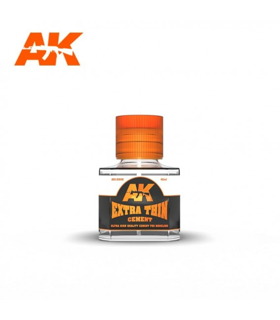 Adhesive Extra Thin Cement AK12002 40 ml.
