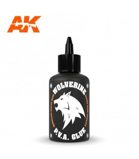 Withe Glue AK12014 Wolverine P.V.A. Glue 100 ml.