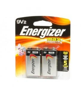 Blister 2 batterie Energizer 9v FS642 Woodland Scenics.