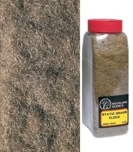 Floccaggio Erba Bruciata - Flock Burnt Grass - FL633 Woodland Scenics 945 cm3.