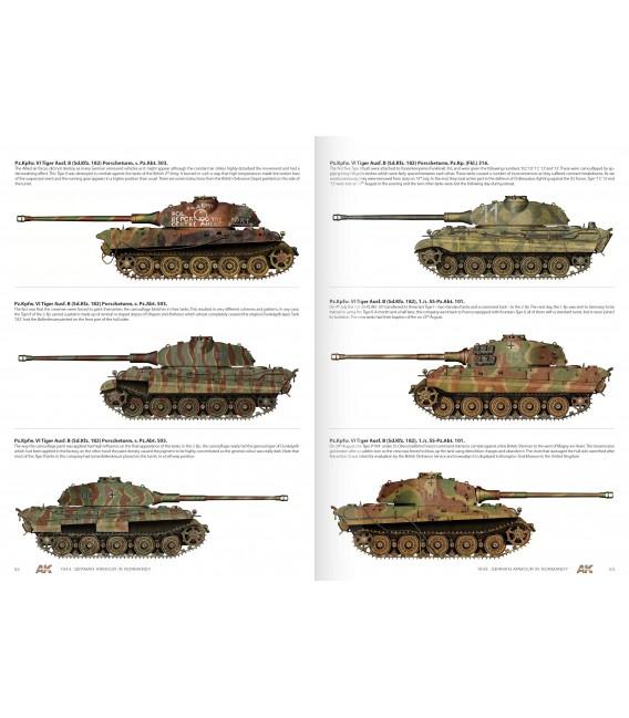 AK917 1944 Blindados Alemanes en Normandia - Castellano