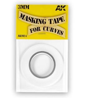 AK Masking Tape for curves AK9124 3mm x 18 m.