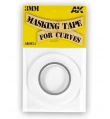 AK Masking Tape for curves AK9124 3mm x 18 m.