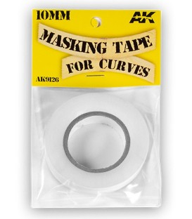 AK Masking Tape for curves AK9126 10mm x 18 m.