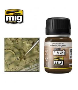 AMIG1000 Lavado marron para amarillo aleman 35 ml.